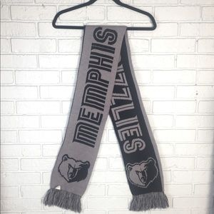 Memphis Grizzlies NBA Basketball Reversible Scarf